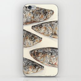 Sardines iPhone Skin