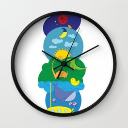 Discovering the World Wall Clock