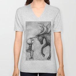 Enchantment of the Unicorn Unisex V-Neck