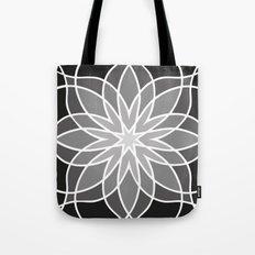 Shades of Grey | Geometric Pattern Tote Bag