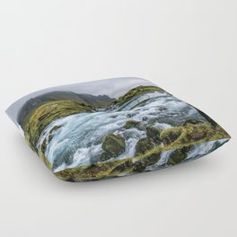 Roadside Retreat Floor Pillow