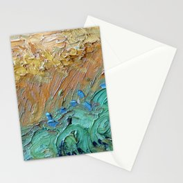 Brushstroke Detail of a Van Gogh Stationery Cards