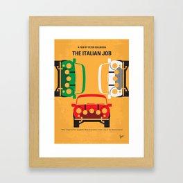 No279 My The Italian Job mmp Framed Art Print