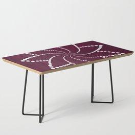 Zen Floral Mandala Coffee Table