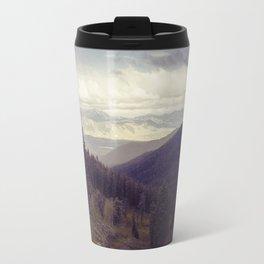 Above The Mountains Travel Mug