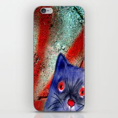 Gordon The Graffiti Cat iPhone Skin