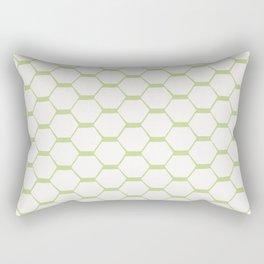 hexagon (2) Rectangular Pillow
