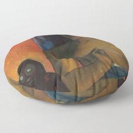 Paul Gauguin - Barbarian Poems (1896) Floor Pillow