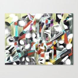 Vagueness Canvas Print