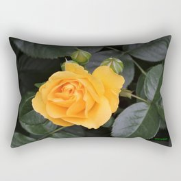 "A Rose Named ""Julia Child"" Rectangular Pillow"