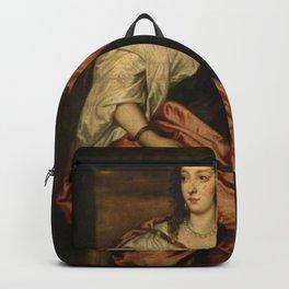 Anthony van Dyck - Portrait of Lady Venetia Digby (1600–1633) Backpack