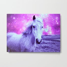 Pink Purple Celestial Dreams Metal Print