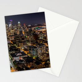 Seattle Nights Stationery Cards