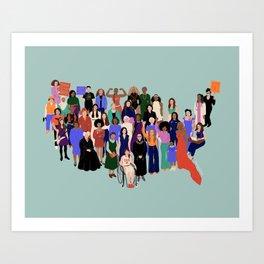 Women's March Kunstdrucke