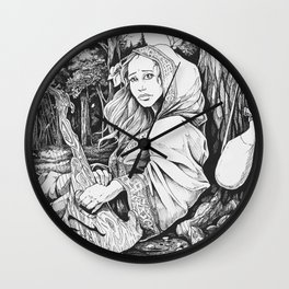 The Bard Wall Clock