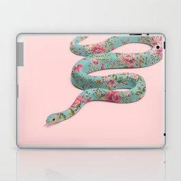 FLORAL SNAKE Laptop & iPad Skin