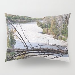 Overlooking the River Pillow Sham