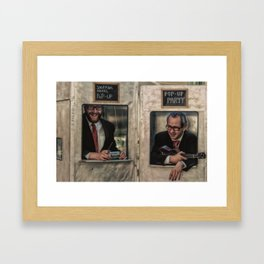 Music Popup Framed Art Print