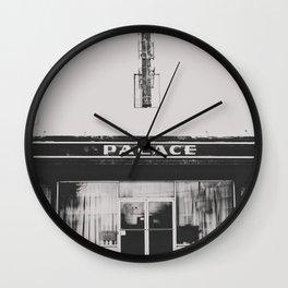 Palace Theater - Marfa, Texas Wall Clock
