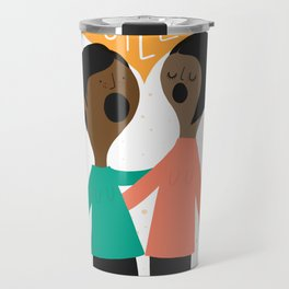 We Will Not Be Silent Travel Mug