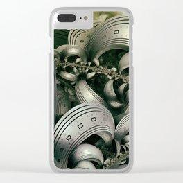 Metrias city Clear iPhone Case