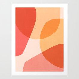 O Calor Das Formas Art Print