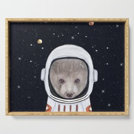 little space bear Serving Tray