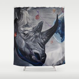 Regards from Eternity. Shower Curtain