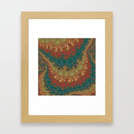 Fractal Layers Framed Art Print