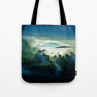 i want to believe Tote Bags featuring I Want To Believe by minx267