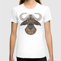 african T-shirts featuring African Buffalo by ArtLovePassion