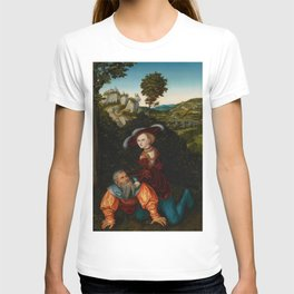 "Lucas Cranach the Elder ""Phyllis and Aristotle"" T-shirt"
