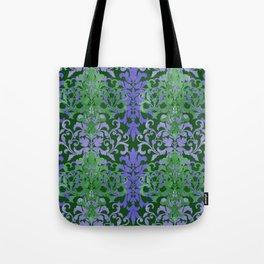 Watercolor Damask Tote Bag
