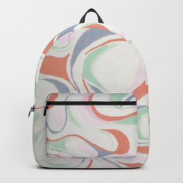 Abstract print design Backpack