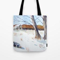 A Different Path - Winter Wonderland Tote Bag