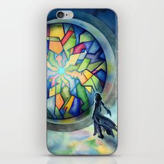 The Gate of Many Panes iPhone & iPod Skin
