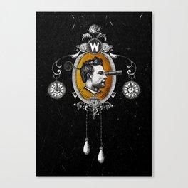 The Watchmaker (black version) Canvas Print