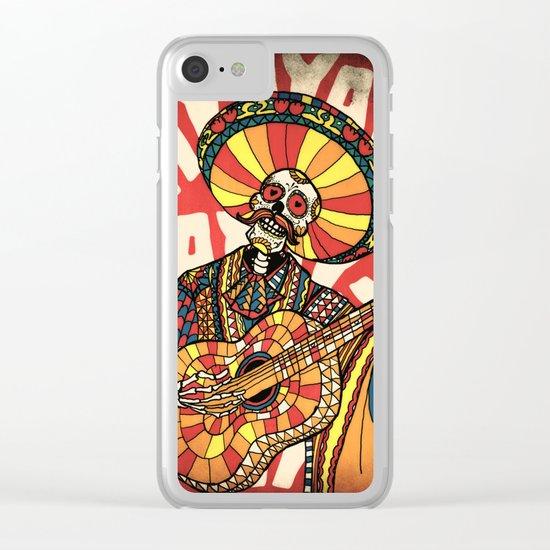 Mariachi Clear iPhone Case