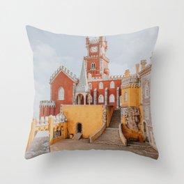 Pena Palace II / Sintra, Portugal Throw Pillow
