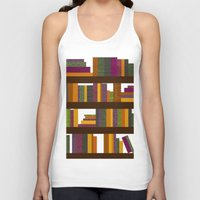 books Tank Tops featuring Books by Sara Robish Andrews