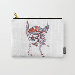 Death Flying Skull Carry-All Pouch