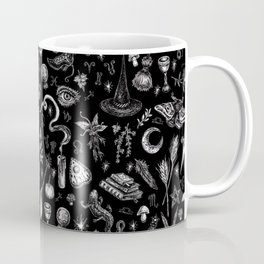Salem Witch in Black Coffee Mug
