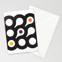 Circles 3x3 #8 Stationery Cards