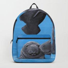 Manatees Backpack