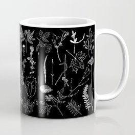Nature Botanical Drawings by young kid artists, profits are donated to The Ivy Montessori School Coffee Mug