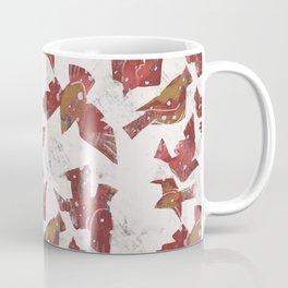 Snowy Cardinals Coffee Mug