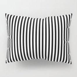 Black Stripe Pattern | Halloween Prisoner Costume | Jail Stripes Pillow Sham