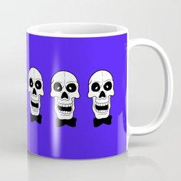 Hogarth on Violet Blue Coffee Mug