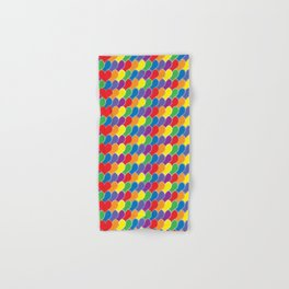 Pride Heart Scale Pattern Hand & Bath Towel