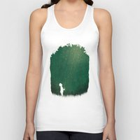 fireflies Tank Tops featuring Fireflies by laurxy
